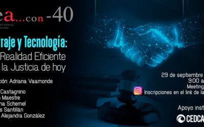 Arbitraje y Tecnología: Una Realidad Eficiente para la Justicia de Hoy (Reunión en Zoom)