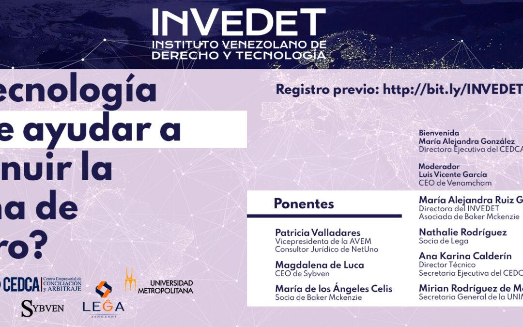 Evento INVEDET: ¿La tecnología puede ayudar a disminuir la brecha de género?